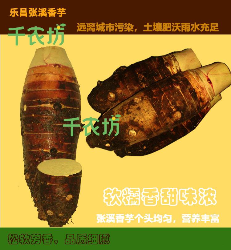 乐昌市张溪香芋出新疆西藏包邮