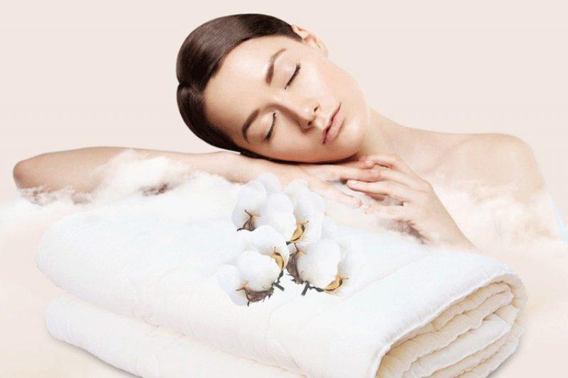 新疆白纱布绗缝细绒棉被芯全国包邮